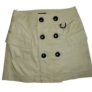 Mexx mini skirt , double button pocket front